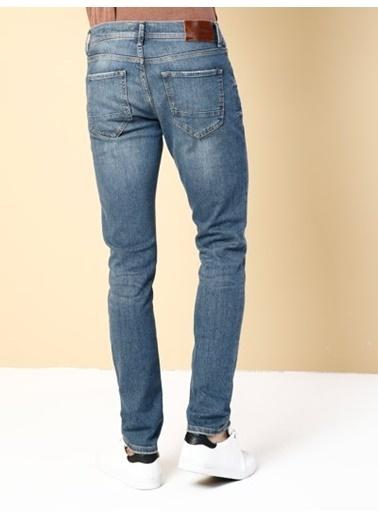 Colin's Colins 1031005 Orta Bel Normal Paça Slim Erkek Jean Pantolon Renkli